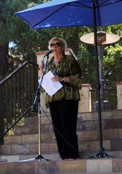 Our host, Congresswoman Zoe Lofgren