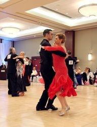 Instructor Branden Calnan & student Adriana Albanense