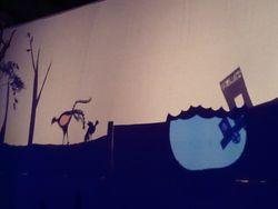 Stunning Shadow Puppetry