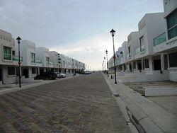 Calle dentro de la ciudadela