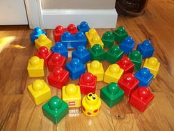 Lego Primo- Blocks for Babies (33) - $15