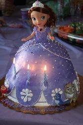 Princess Sofia Doll Cake