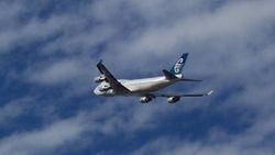 Air New Zealand Boeing 747-400 ZK-SUJ