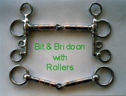 Bit & Bridoon with Rollers
