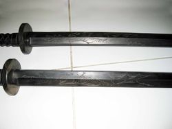 New Bokken (Wooden Sword)