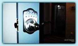 FACTO numeric keypad door lock installation Sam the Handyman Montreal