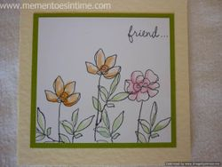 Flower Friend Card