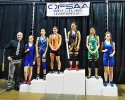Jessica Hong - 1st place at OFSAA 2018