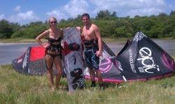 Stephanie, Shane - Kiss The Sky Kiteboarding kitesurfing