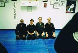 With Shiraishi Sensei