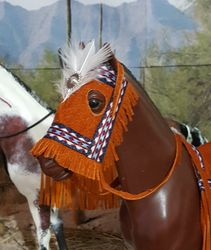 simple native american tack for George