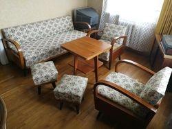 Vintazinis baldu komplektas, Kauno baldu kombinato gamyba 1966 m. Kaina 387