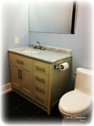 Bathroom vanity + Sink + Faucet installtion