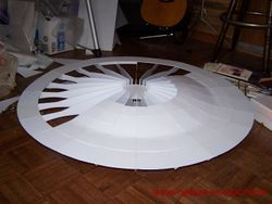 Building the Saucer Section -  pic 42