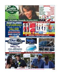 SALAS SOLUTIONS SERVICES / DIAZ AUTO GLASS /PANTALONES COLOMBIANOS