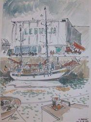 BREST Voilier Port de commerce