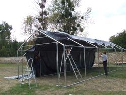montage d'une tente