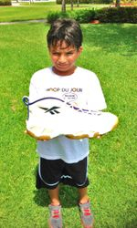 Caio with Shaq Shoe.