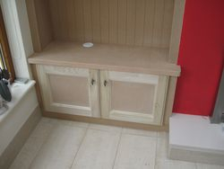 Shelvf unit with TV Cabinet / Build-in / Alcove