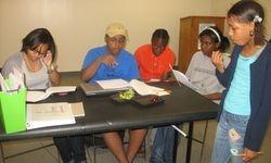 High School Students as dramaturgy interns
