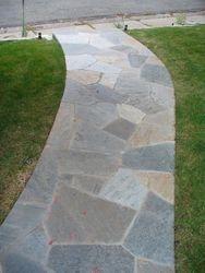 Quartzite Flagstone patio Boulder Colorado Landscape masonry