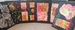 Pop Art Sample Board