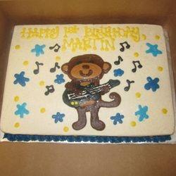 Musical Monkey Cake