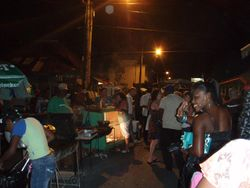 The Gros Islet jump up