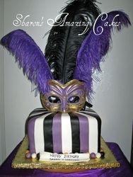 CAKE 30A2- Carnival Cake