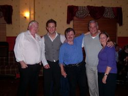 Jimmy Neary, Gary Gamble, DJ Franco, Cliff & Sue Parsons.