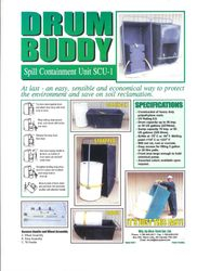Drum Buddy Secondary Containment
