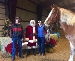 Christmas at Black Star Performance Horses, 2014