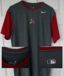 Albert Pujols 2009 Game Used Nike Dri Fit Shirt Cardinals