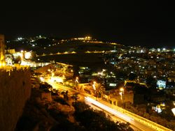 Mount of Olives at Night 2