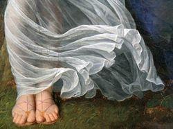 Bonnemaison, Woman Overtaken by a Storm, 1799, Brooklyn