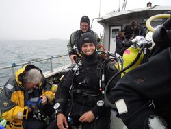 TV Crew + Dive crew = full boat