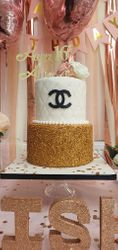 Chanel 16th Birthday Cake
