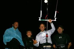 Full Moon Ride - kiteboarding in the tampa bay