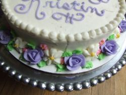 Flower Base Cake (1) (View 2)