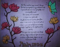 Psalm 139: 13-16