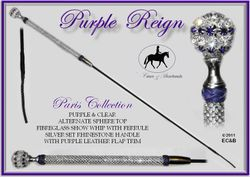 Purple Reign Paris Whip $154