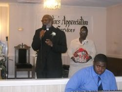 D/E Joseph Woods, Pastor & Lady Elect Linda Woods