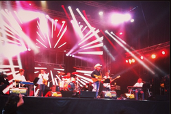 Jerry, Daniel and band in France
