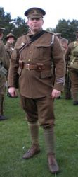 SD tunic, trousers & Cap worn by Howard Millin