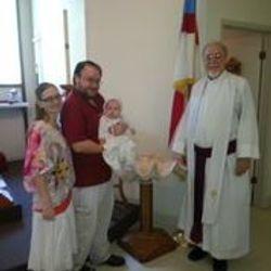 Zoe after baptism 2