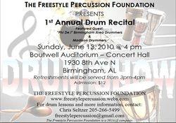 1st Annual Recital