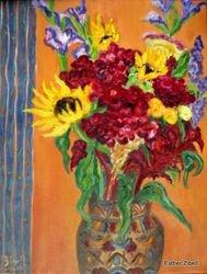 Sabbath Bouquet with Amaranthes