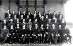 Burslem, Stoke on Trent. 1914.