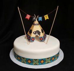 Tee Pee Cake