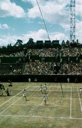 123 Australian Tennis Champs. Kooyong 1956